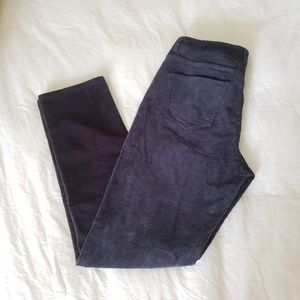 BROOKS BROTHERS Red Fleece Corduroy Pants Navy 6